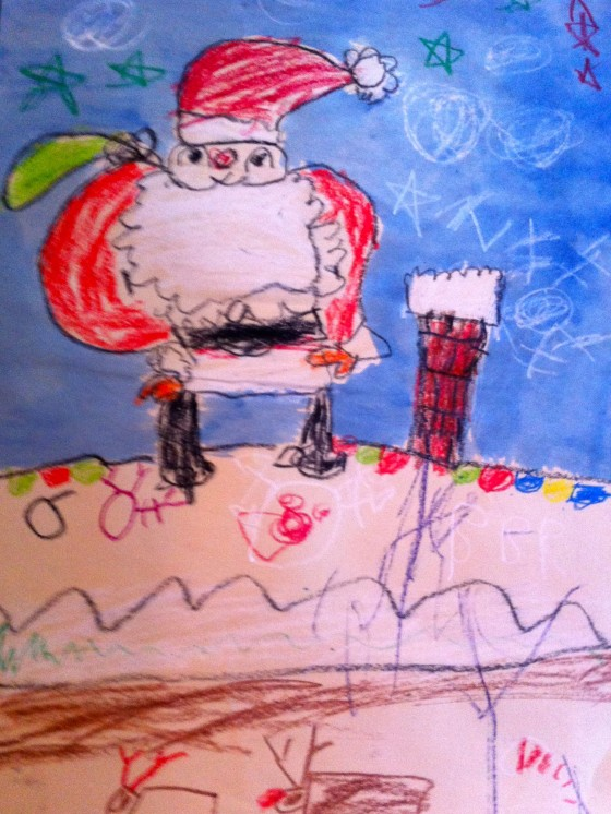 santa claus is coming to town free lesson plan and step by step instructions great artist program