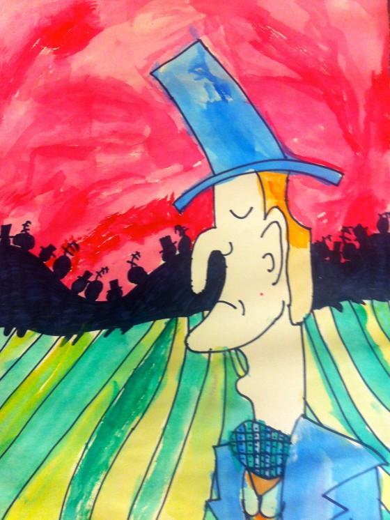 4th Grade Art Value Painting