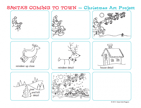 Santa Claus Is Coming To Town Free Lesson Plan And Step By Step
